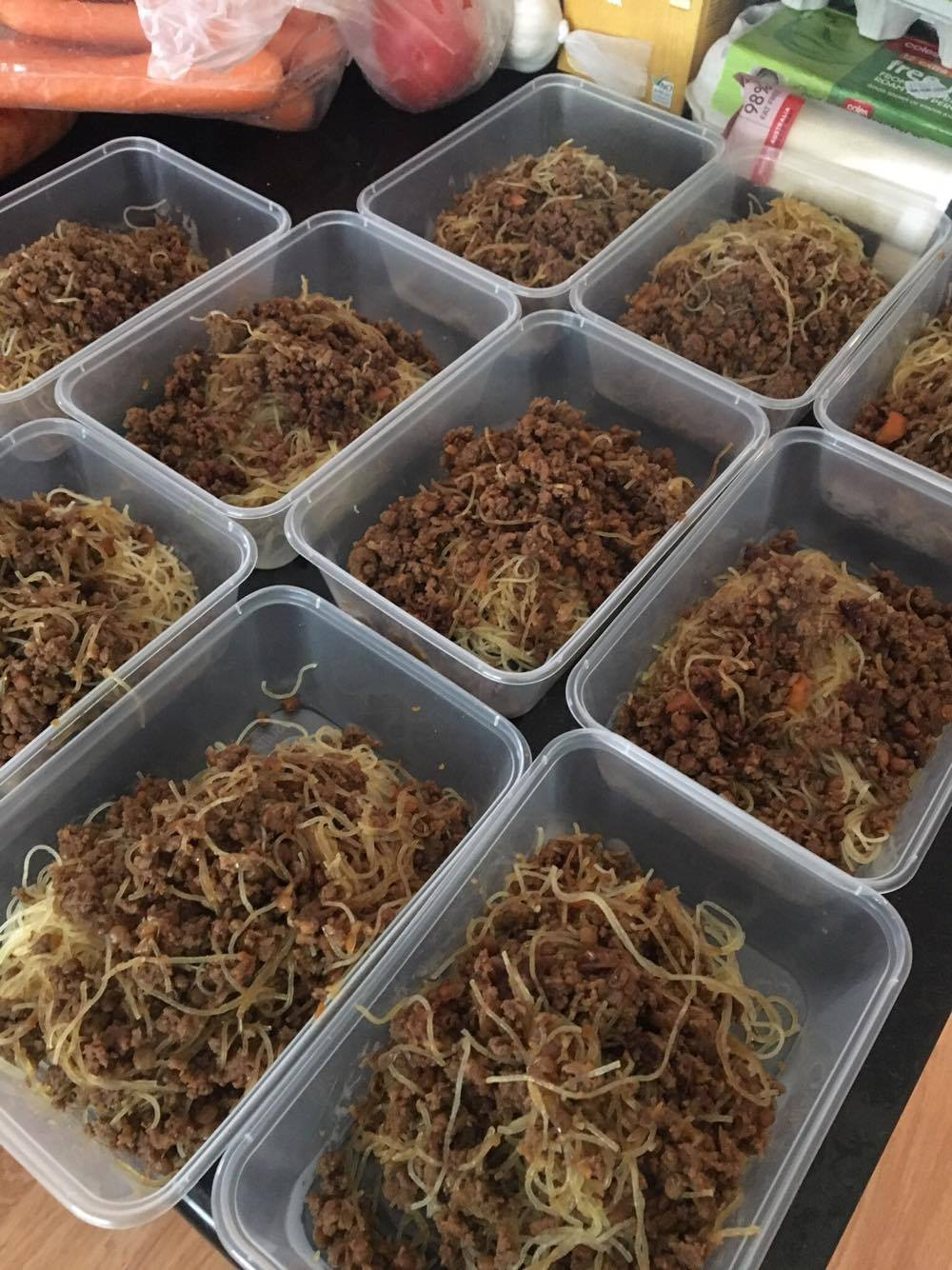 This Mum Spent $200 And Made 122 Challenge MEALS