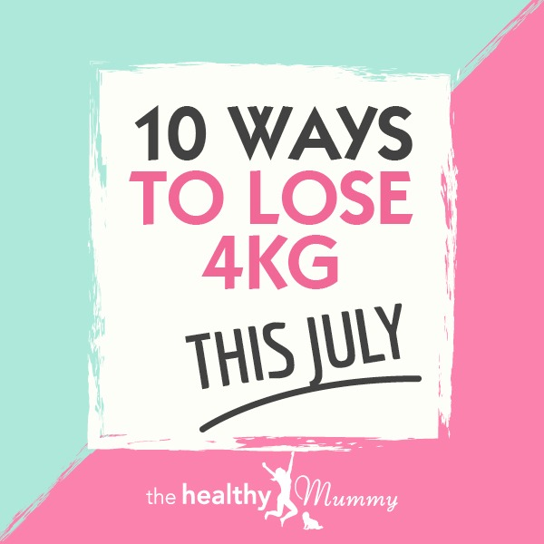 10 ways to lose 4kg