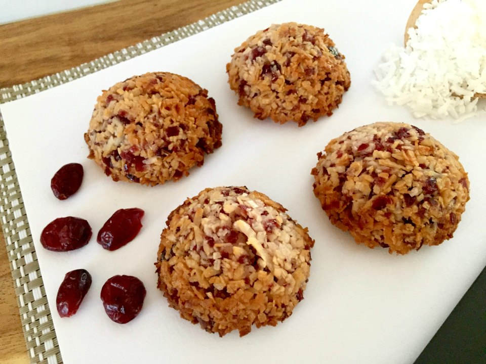 Cranberry Coconut Macaroons