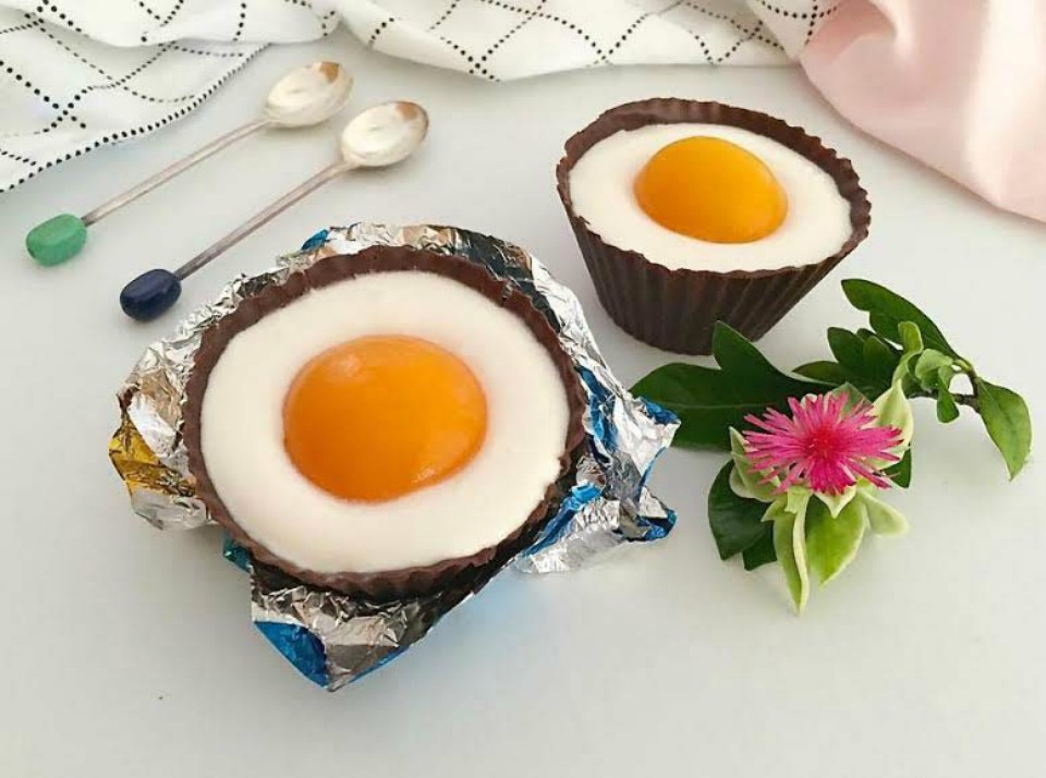 Healthy Chocolate Cream Egg