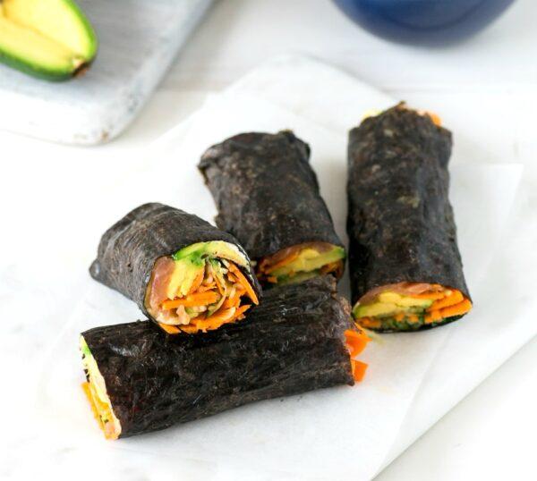No Rice Sushi