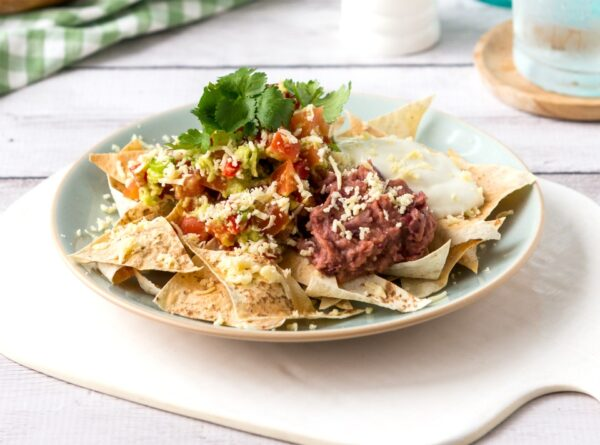 Ultimate Bean Nachos