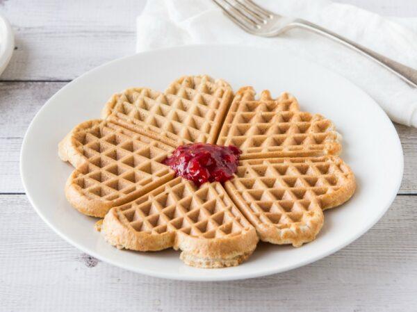 Vanilla Cinnamon Waffles