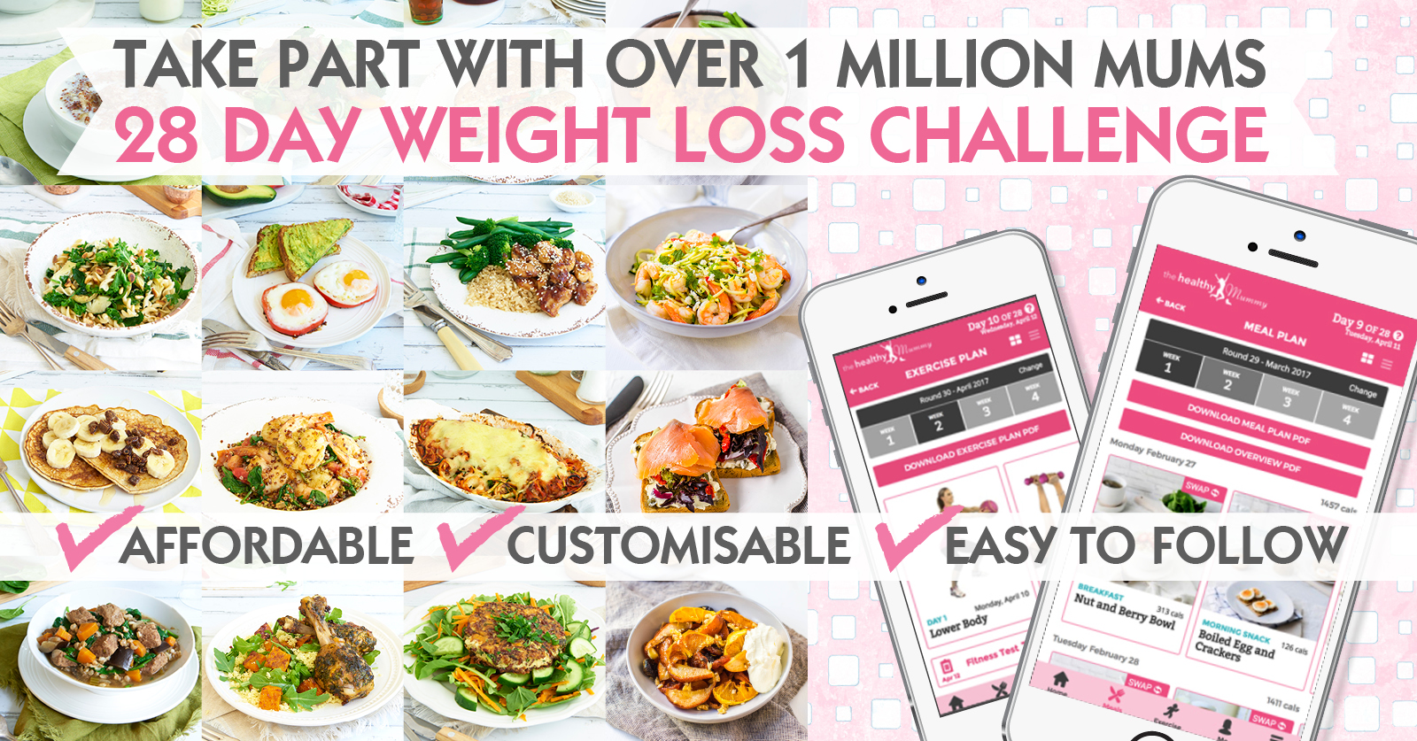 Get Access To Thousands Of Budget Friendly And Healthy Recipes On Our Challenge 1705 THM DB GENERIC CHALLENGE GRAFX The Mummys 28 Day Weight Loss