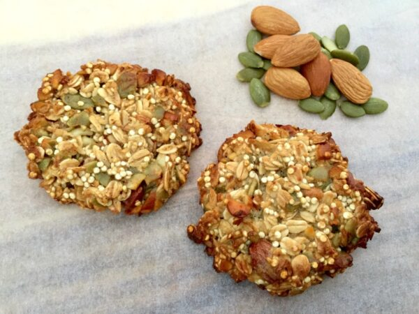 Almond And Quinoa Cookies