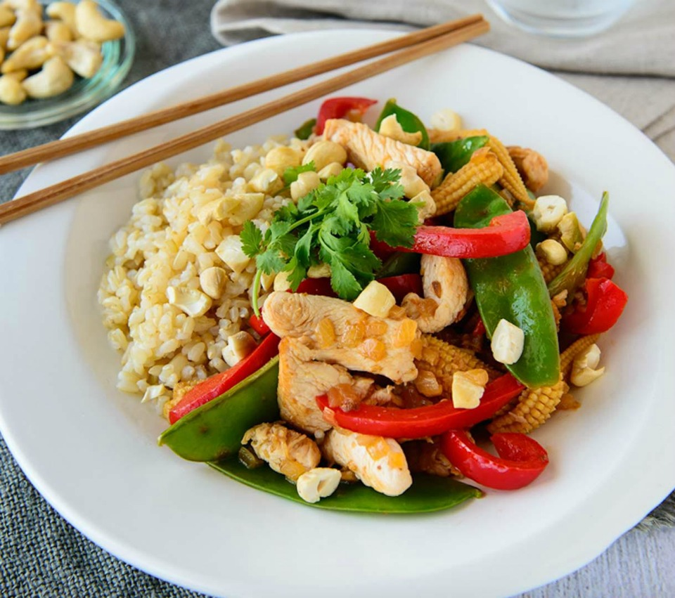 Honey, Lemon And Ginger Chicken Stirfry