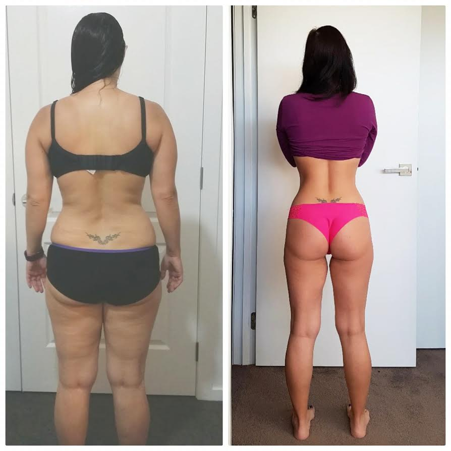 This bootylicious mum is feeling fitter and happier than ever!