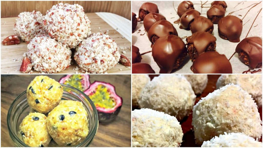 10 healthy bliss ball recipes we LOVE!