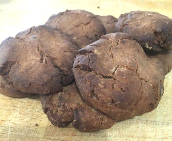 5 Ingredient Double Chocolate Cookies