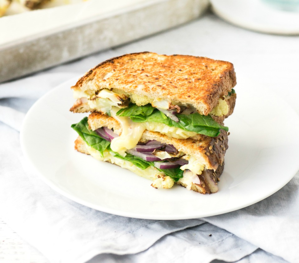 Cauliflower Cheese Toastie