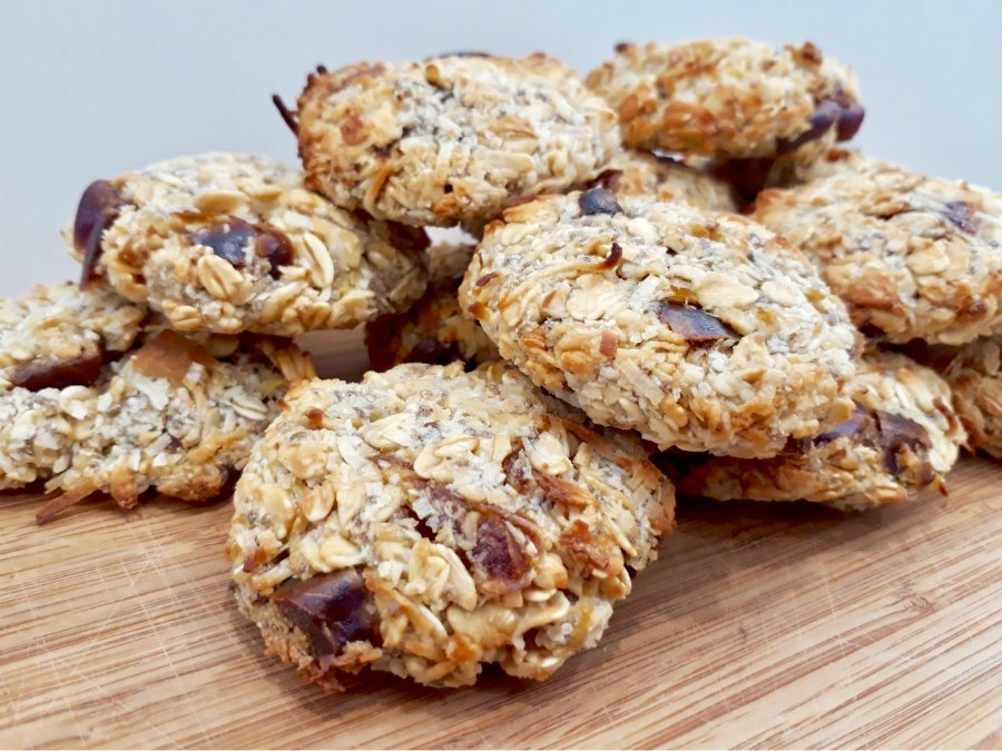 Lemon Date Oat Biscuits