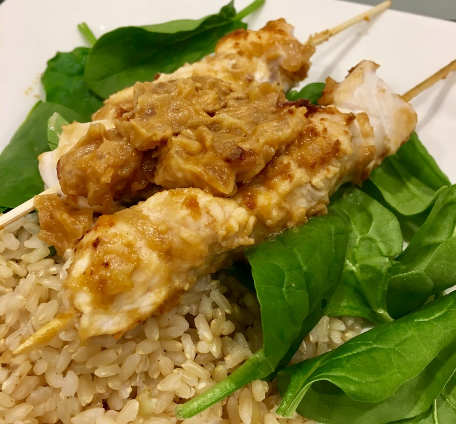 Satay Chicken Skewers_Leah Romiti