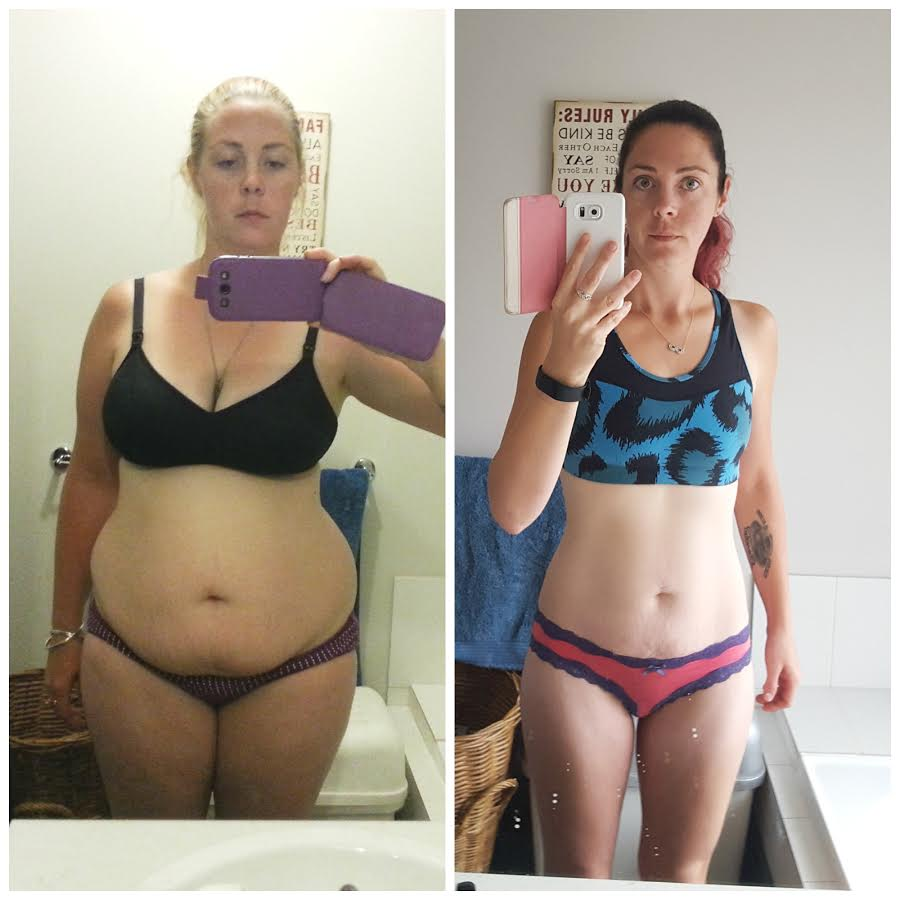 """a""""Oh yeah, we will see."""" How her partner's comment motivated this mum to lose 30kgs"""