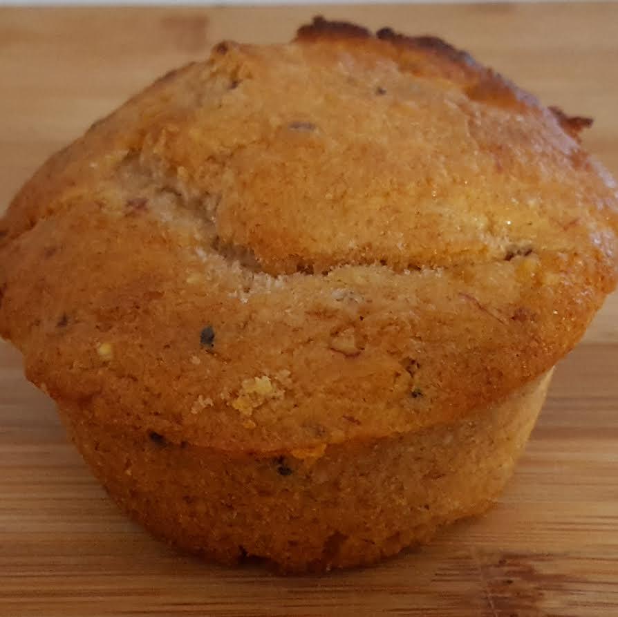 banana quinoa muffin