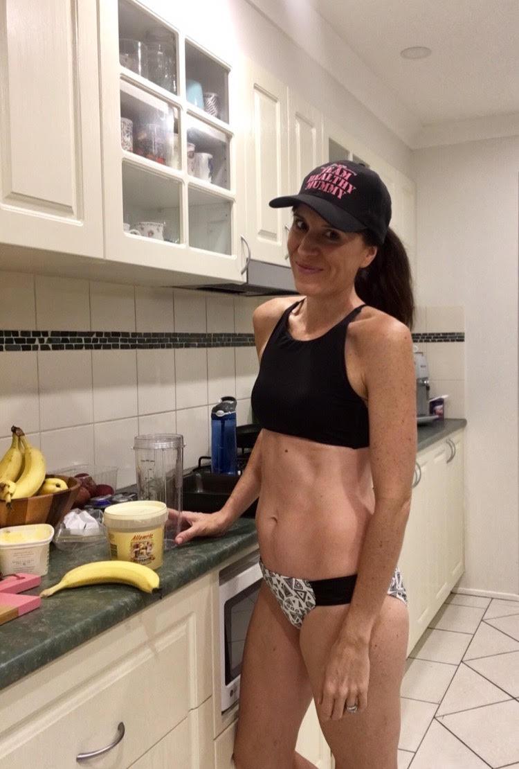 leah bikini kitchen