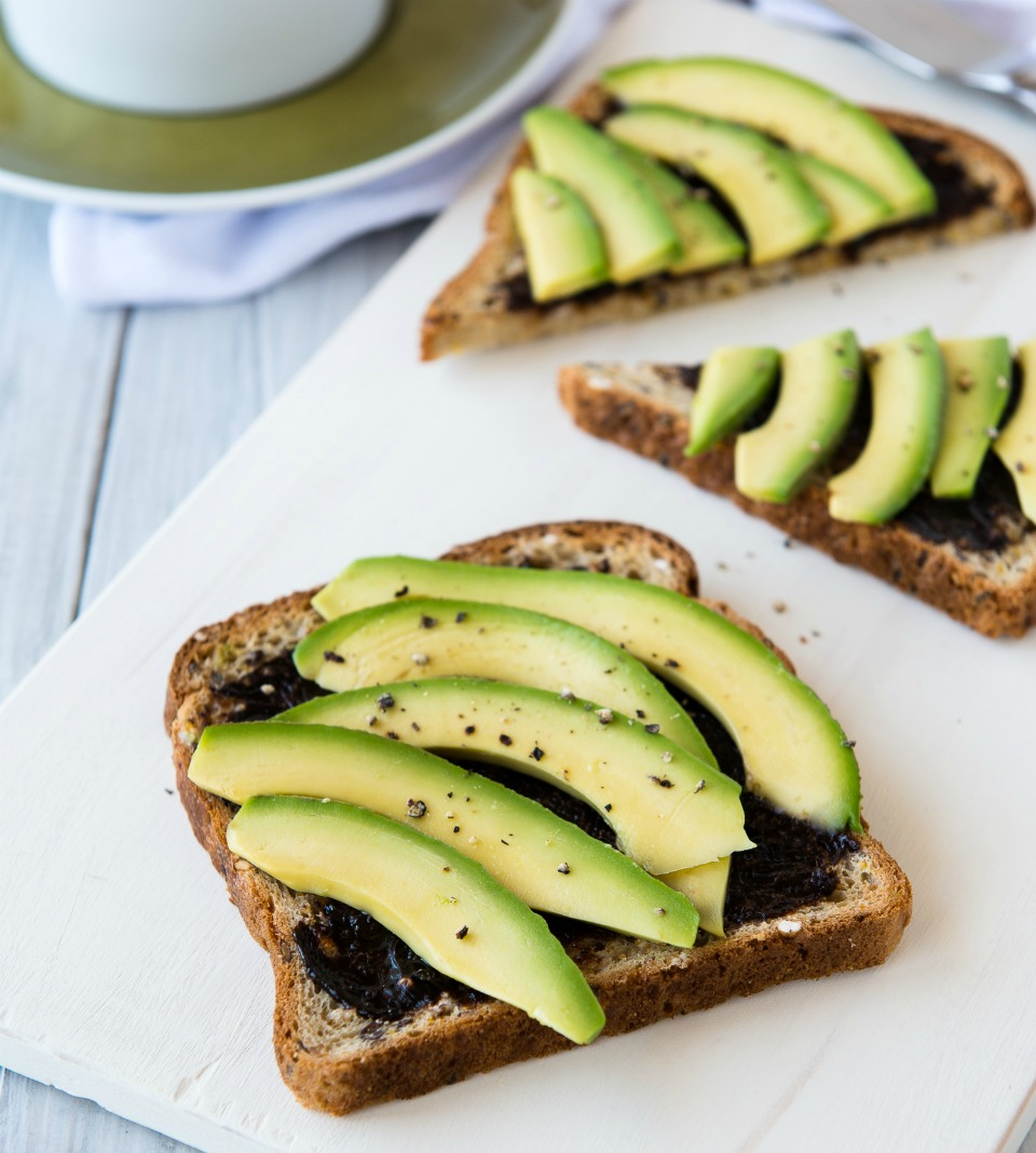 Toast With Healthy Topping