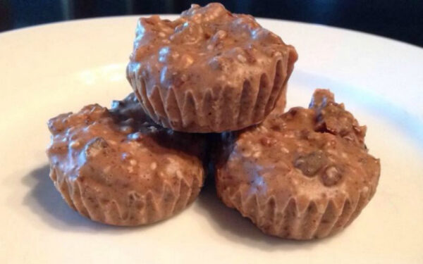 Healthy Protein Packed Chocolate Bites