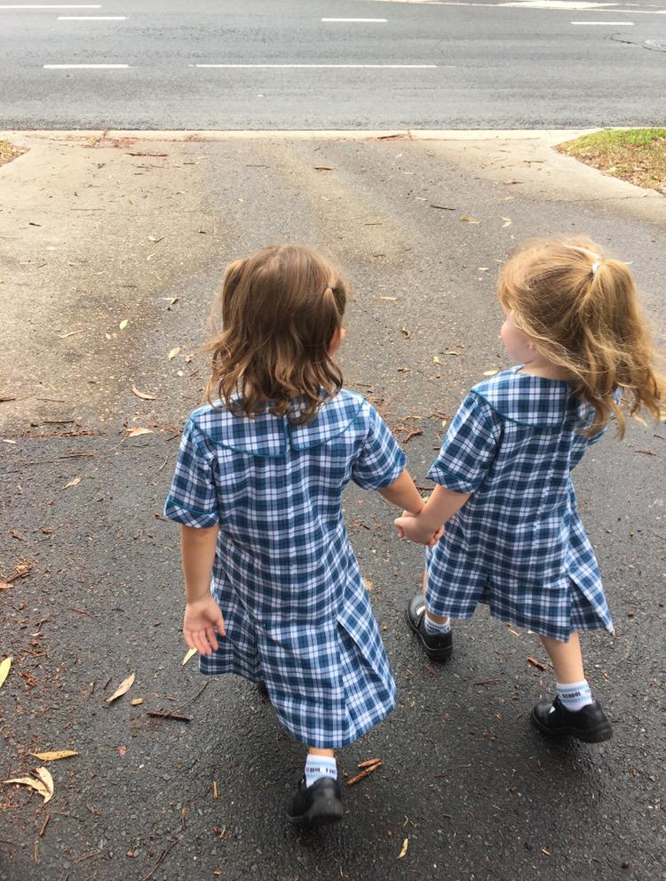 kids walking krystel richards