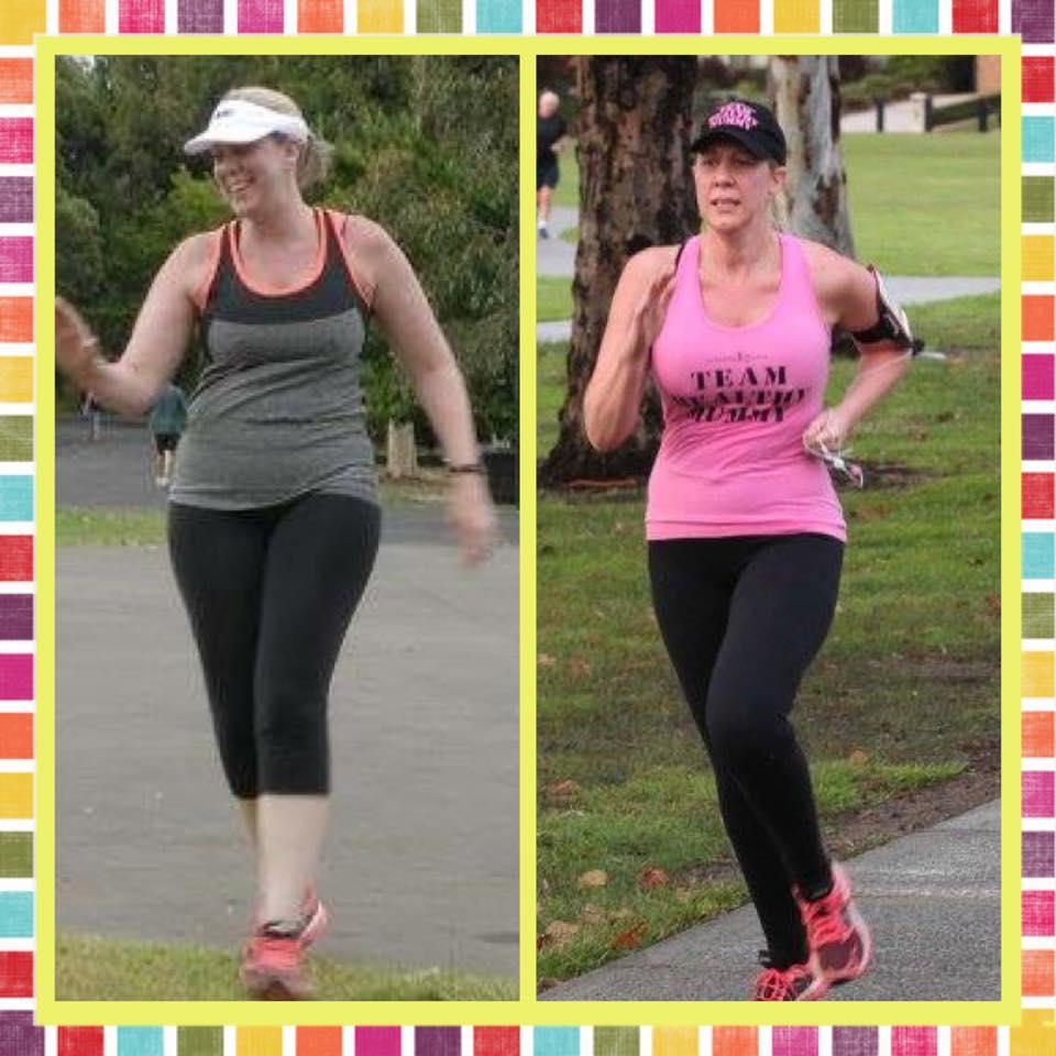 Donna running transformation
