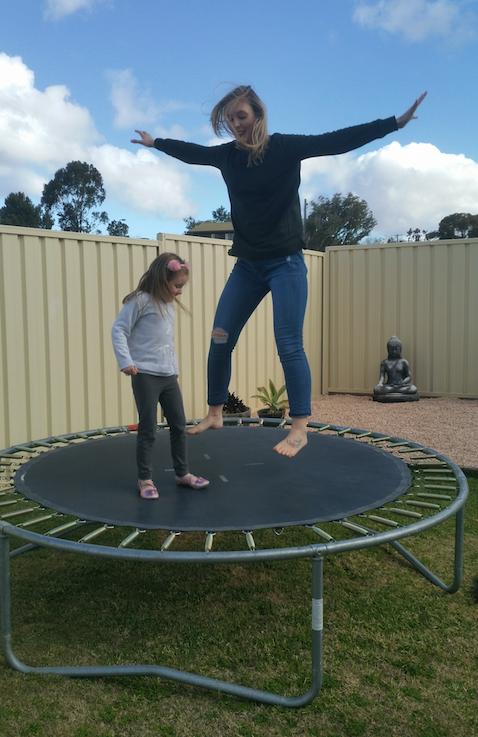 Kristie trampoline 2