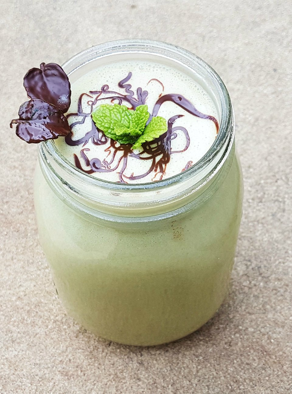 Mint Slice Smoothie