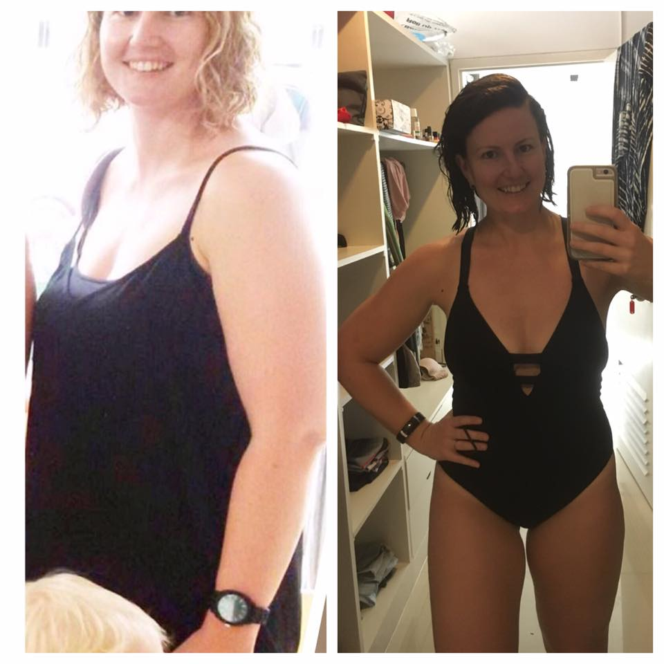 """Here's to a healthier version of ourselves."" Check out Shannon's fabulous transformation!"