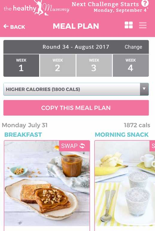 COPY THIS MEAL PLAN 2