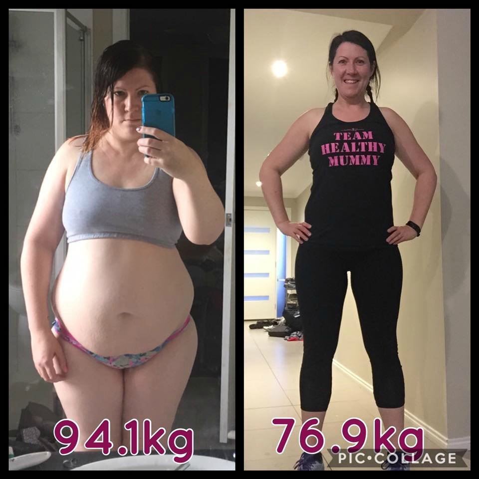Mum ditches McDonalds and Coke Zero and loses an awesome 17kgs!