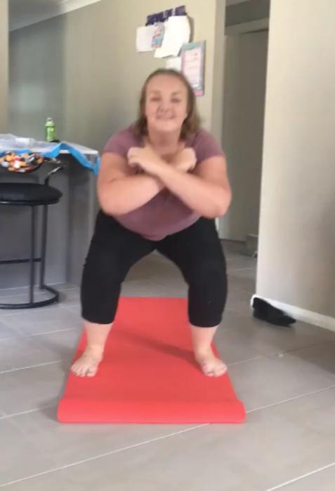 brittany-squats
