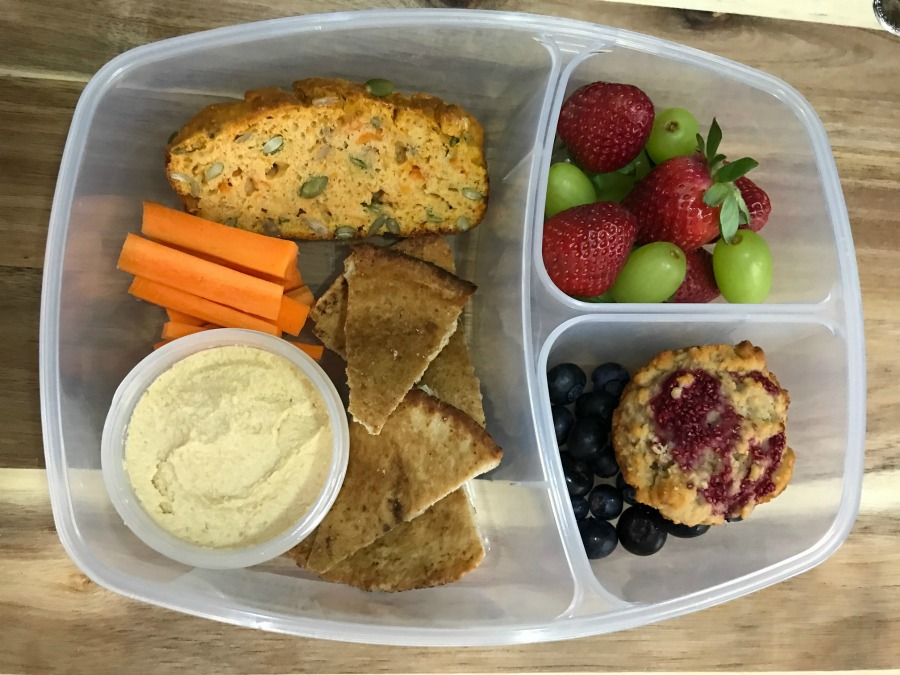 ONE weeks' worth of HEALTHY homemade lunch box treats for under $60!