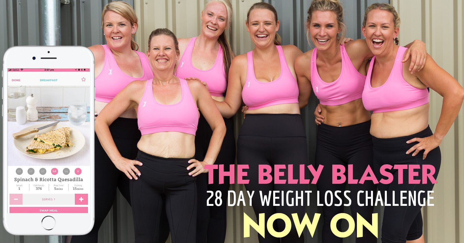 Belly Blaster now on