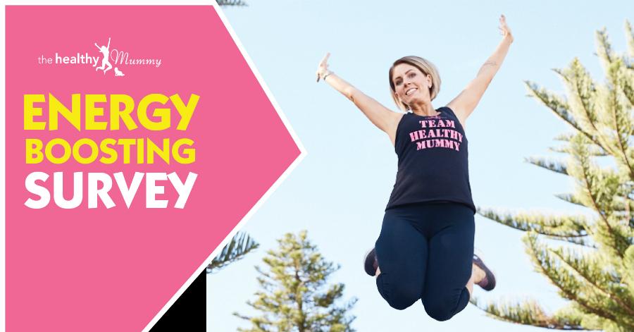 energy boosting survey