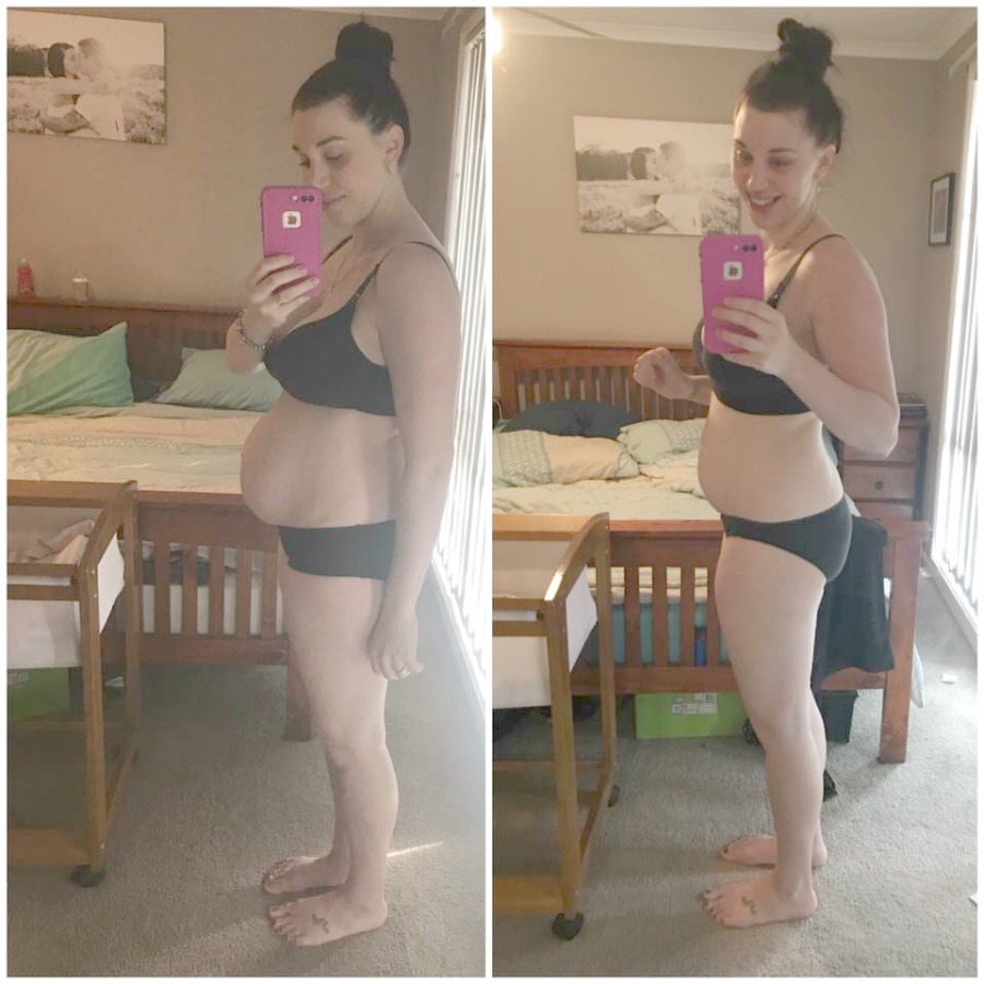 This mum lost 9kg in the THREE months after giving birth to her 3rd baby