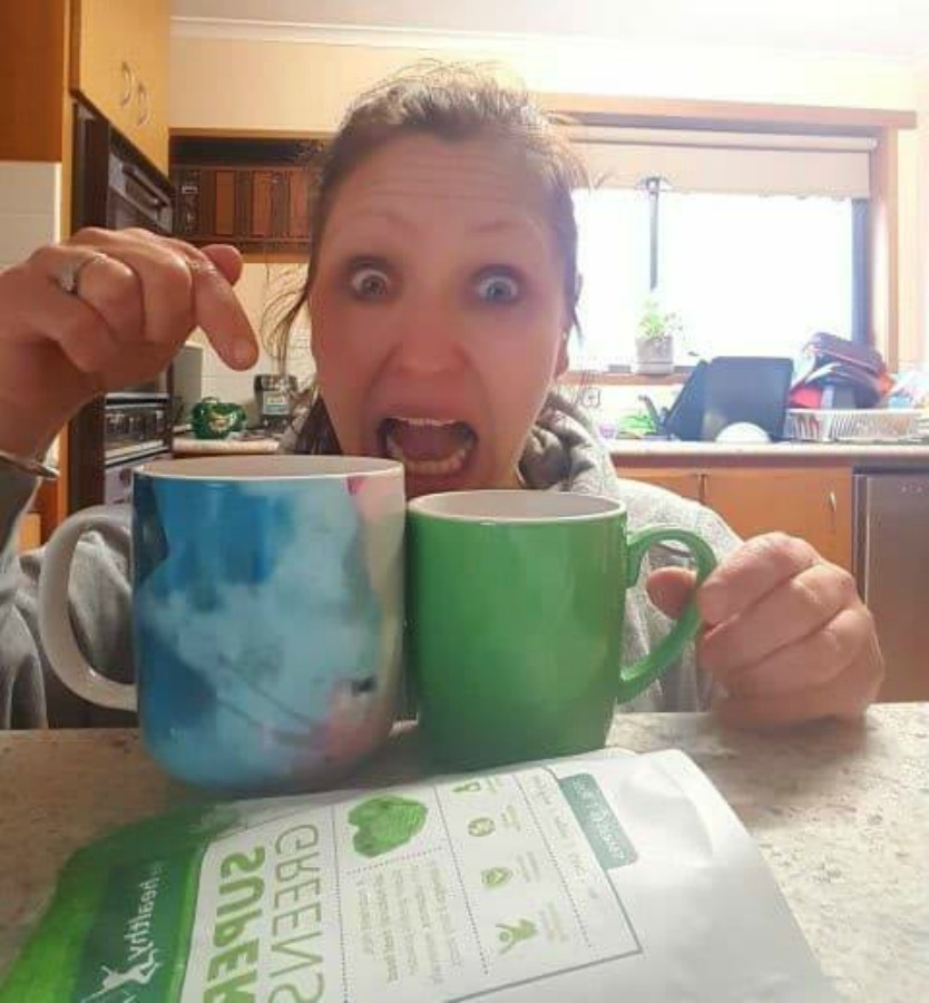 Mum quits coffee in order to boost her energy levels