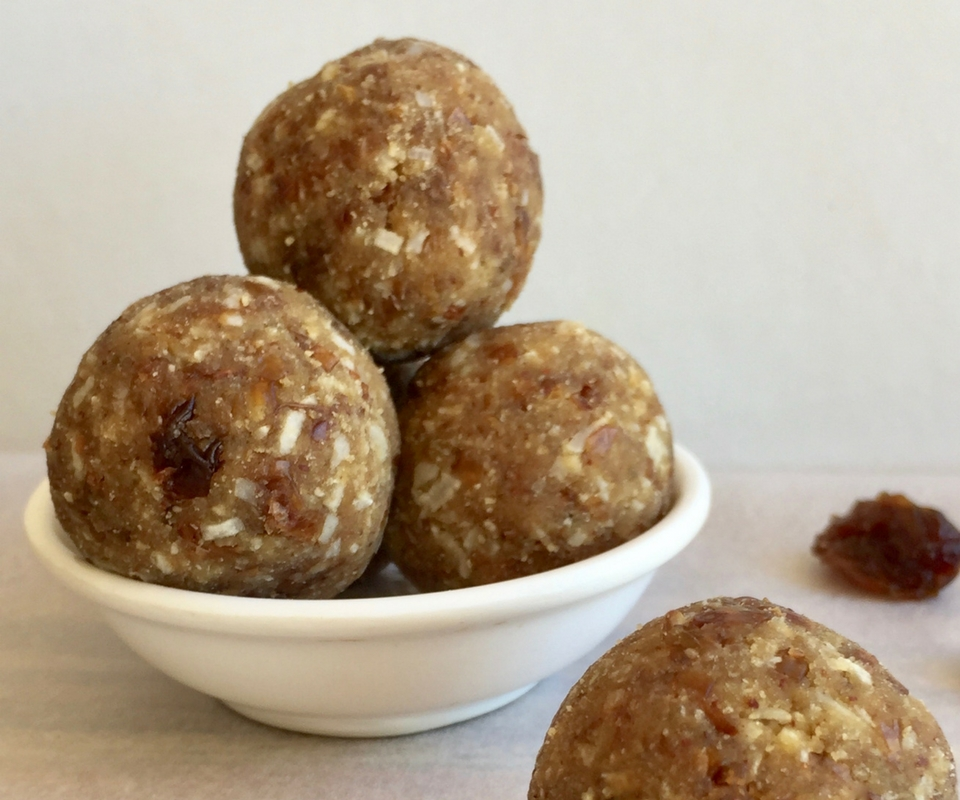 Coconut & Raisin Bliss Balls