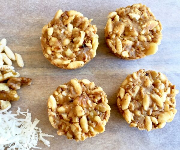 Crunchy Peanut Butter Caramel Cups