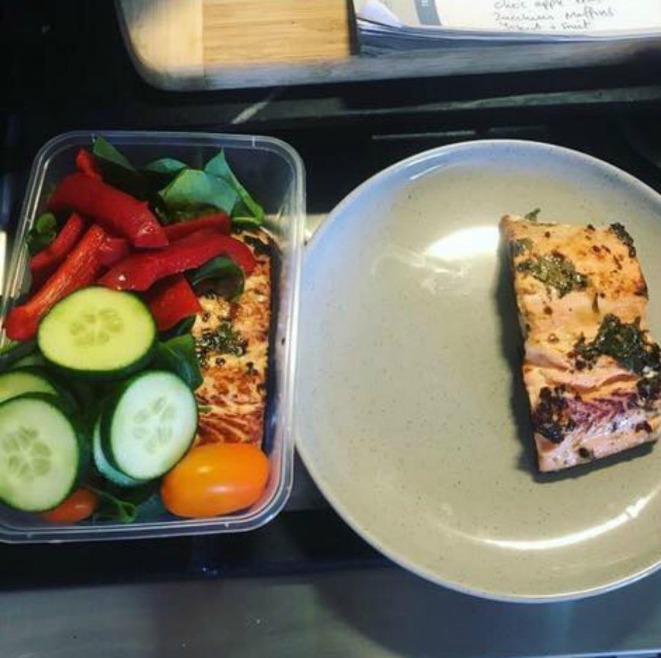 Chilli, Lime and Coriander Salmon