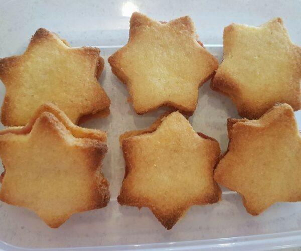 Christmas Shortbread Sandwiches