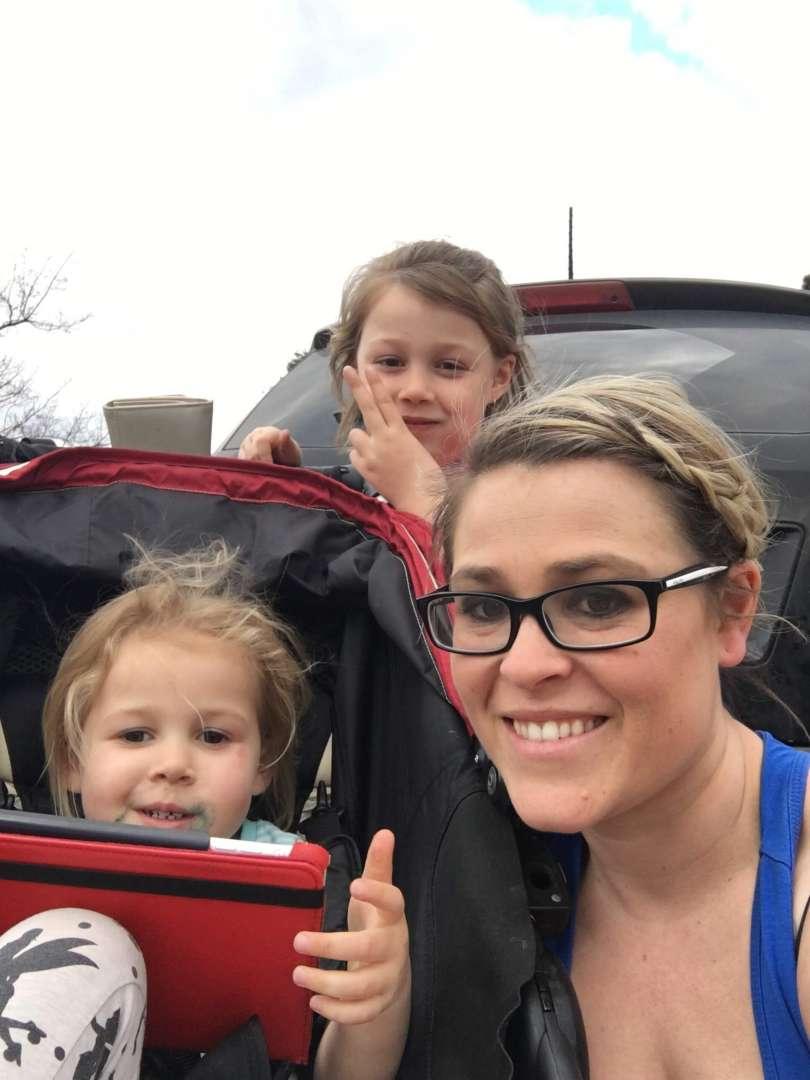 Megan and kids