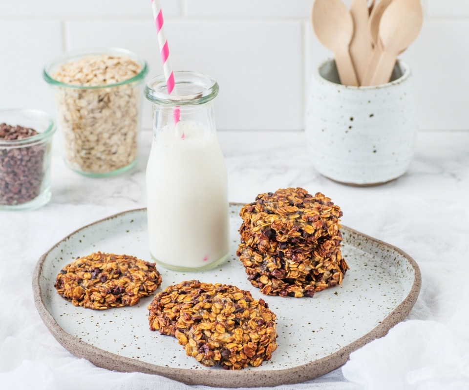 Oat and Cacao Cookies
