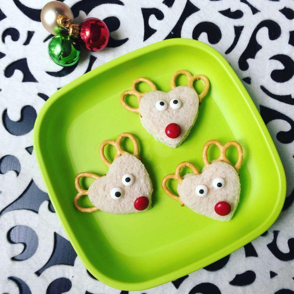 Reindeer sandwhiches
