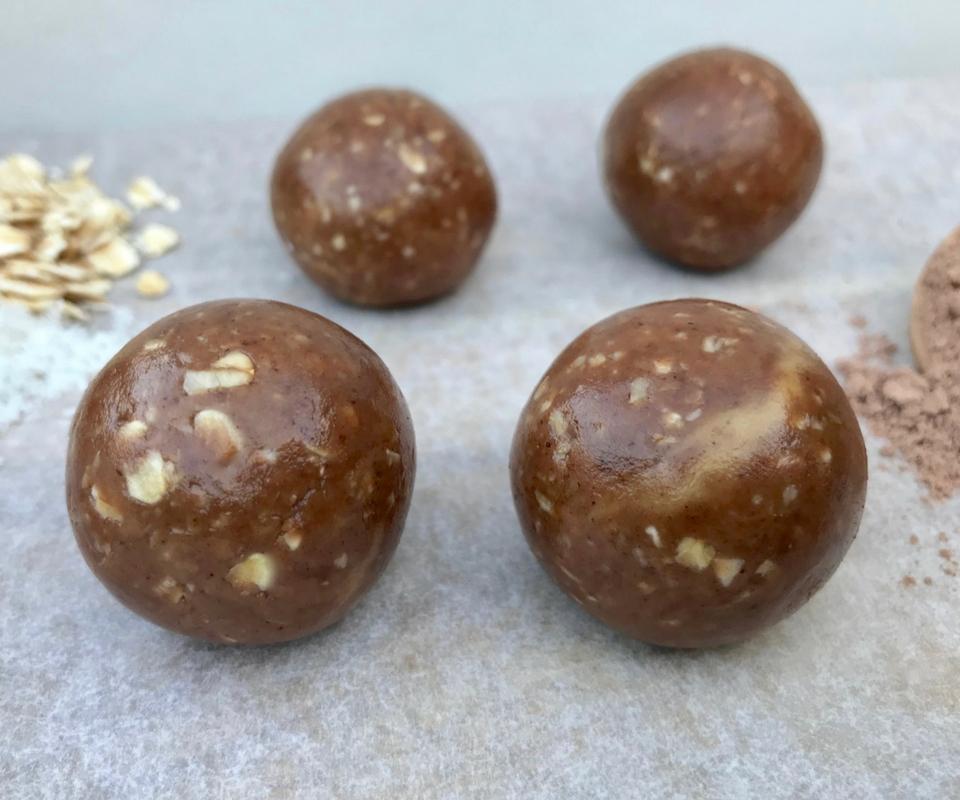 Choc Oat Peanut Butter Bliss Balls