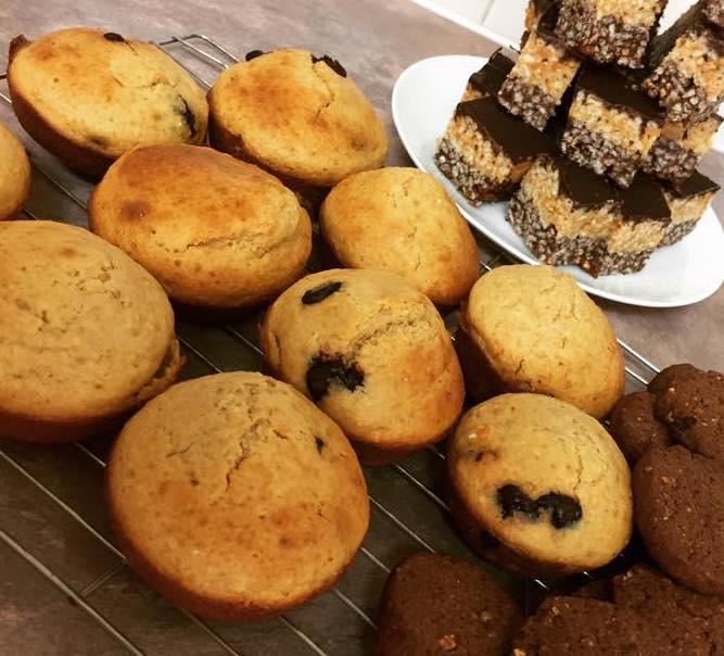 choc chip muffins