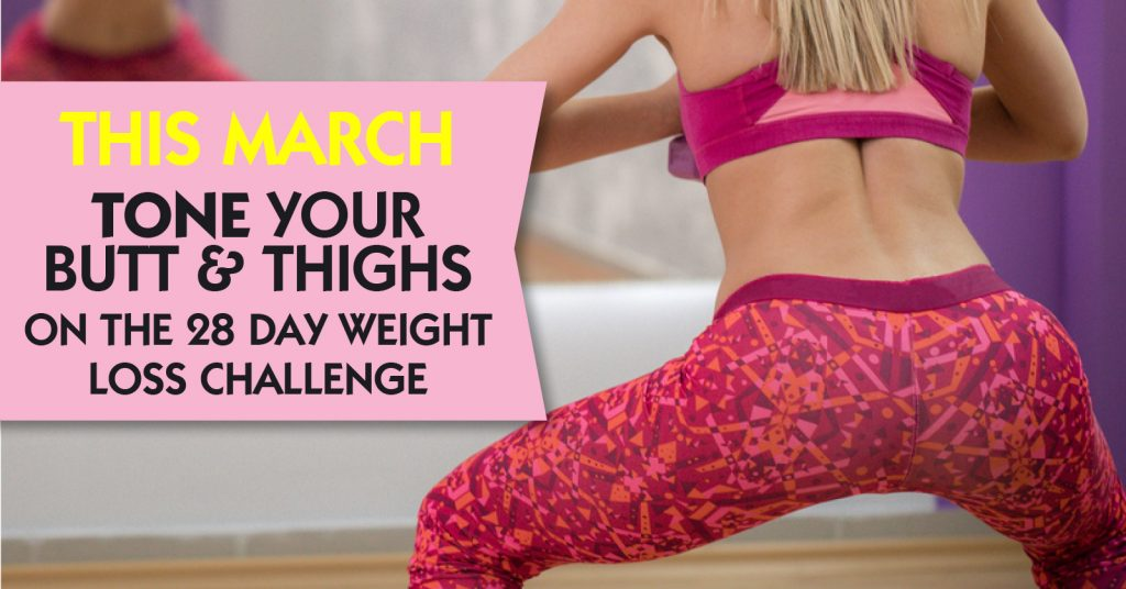 March Butt Thigh Challenge