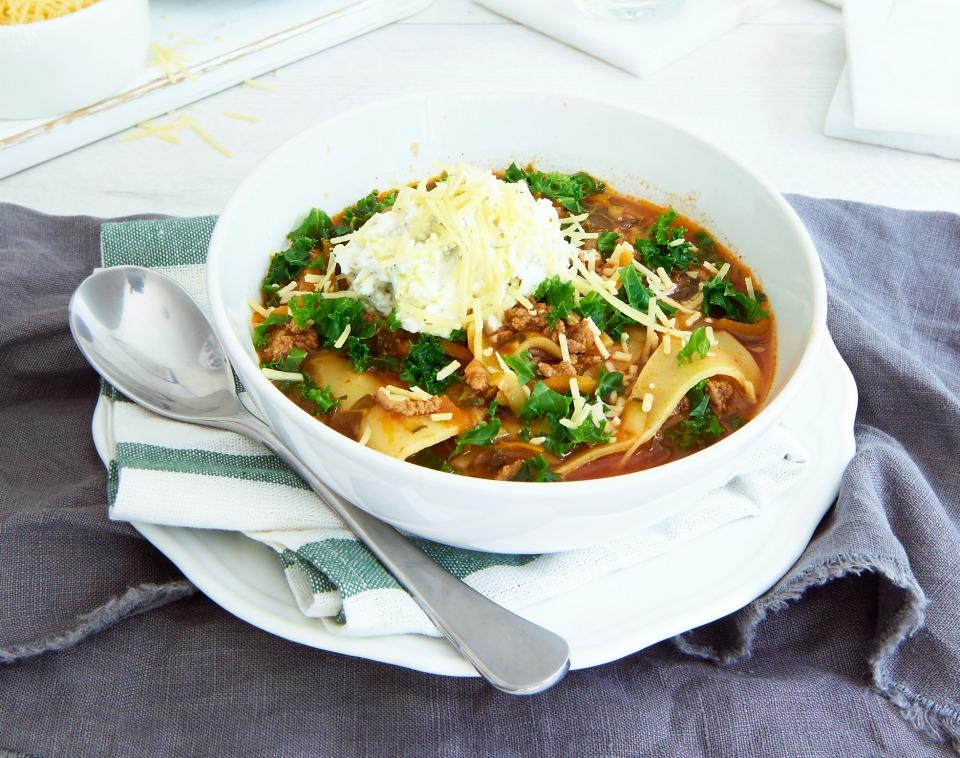 Lasagne-Soup