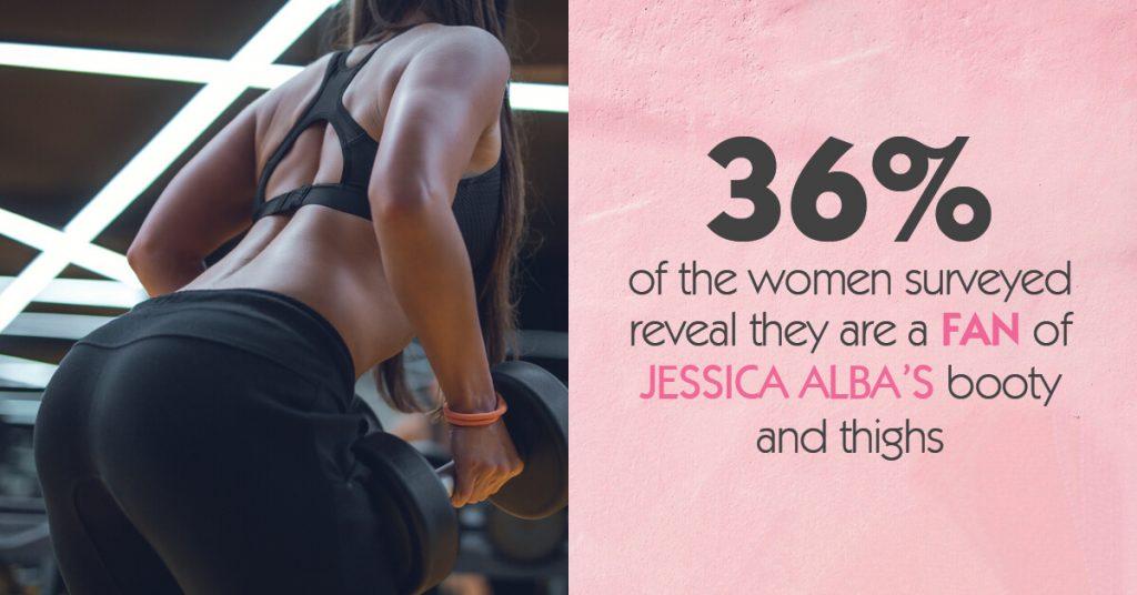 36 fan jessica alba's booty