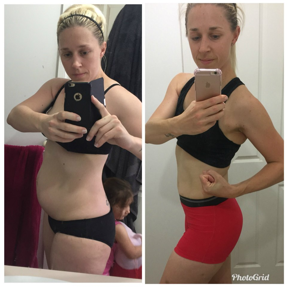 Julie Durbhakula before an after