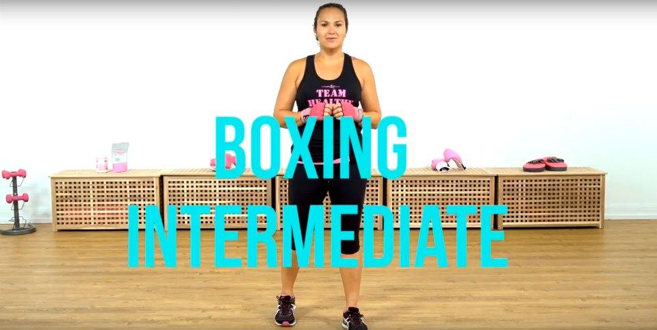 boxing video screenshot