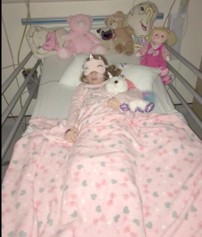 megan in hospital