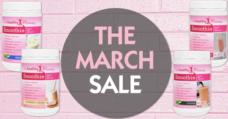 the march sale